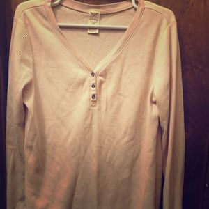 Tops - Free with bundle Light pink thermal long sleeve